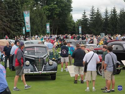 Concours of America crowd shot